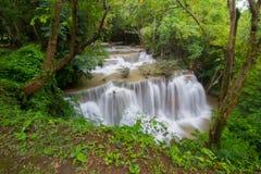 Водопад Kanchanaburi Стоковая Фотография RF