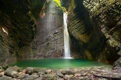 водопад kozjak Стоковые Изображения RF