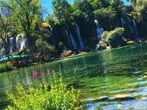 Водопад Kravice Стоковое Изображение