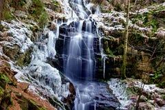 Водопад Kysovicky Стоковые Изображения