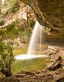 водопад los s Испании charco стоковые изображения rf