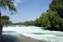 водопад manavgat Стоковое Изображение