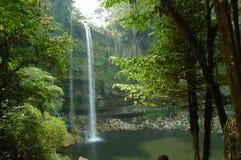 водопад misol ha Мексики Стоковая Фотография