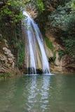 Водопад Neda, Греция стоковое фото rf