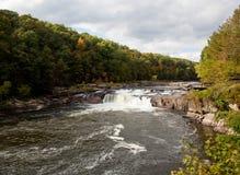 водопад ohiopyle стоковое фото