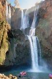Водопад Ouzoud Марокко Стоковое фото RF