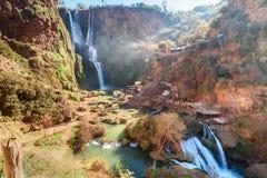 Водопад Ouzoud Марокко Стоковое Изображение