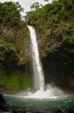 водопад rica la fortuna Косты Стоковое Изображение