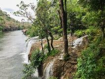 Водопад Sai Yok Yai Стоковые Изображения