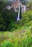 Водопад Sipisopiso, Medan, Индонезия Стоковое Изображение