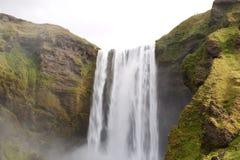 водопад skogafoss Исландии Стоковая Фотография RF