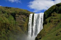водопад skogafoss Стоковые Изображения