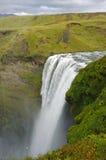 водопад skogarfoss Исландии Стоковые Изображения