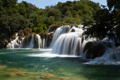 Водопад Skradin Buk Стоковое Изображение