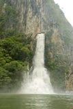 водопад sumidero каньона Стоковые Изображения