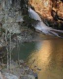 водопад tallulah Стоковая Фотография