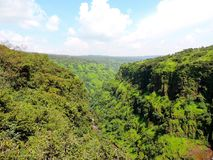 Водопад Thoseghar Стоковые Фото