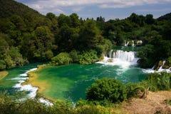 водопад tne национального парка Стоковое фото RF