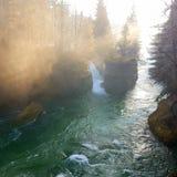 Водопад Traun Стоковые Фото