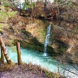 Водопад Traun Стоковое Изображение RF