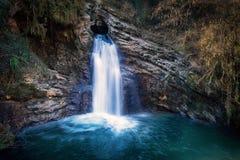 Водопад Trevi, Италия Водопад Стоковое фото RF
