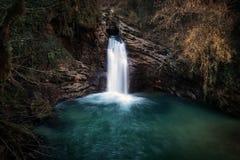 Водопад Trevi, Италия Водопад Стоковая Фотография