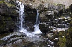 водопад welsh Стоковое Фото