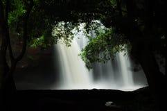 водопад yai национального парка khao стоковое фото rf