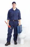 водопроводчик стоковое изображение
