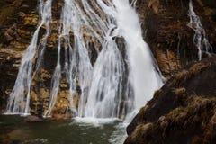Воды летания водопада в плохом Gastein, Австрии стоковые фото