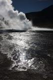воды tatio солнца пара el Стоковое фото RF