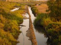 Водяной канал стоковое фото rf