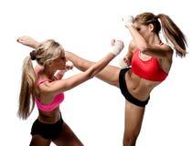 Воевать девушек Стоковые Изображения RF