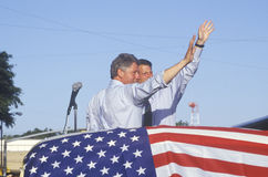 Воевод Bill Clinton и сенатор Al Gore Стоковое Фото