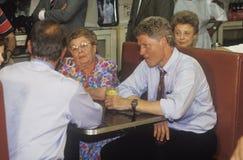 Воевод Bill Clinton и сенатор Al Gore Стоковые Изображения