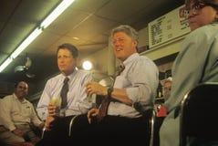 Воевод Bill Clinton и сенатор Al Gore Стоковая Фотография