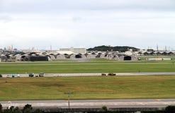 Военная база США в Окинава Стоковая Фотография RF
