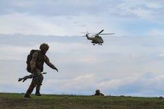 Военная зона Стоковые Фото