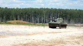 Военная машина Sprut SD сток-видео