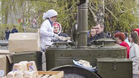 военная полевая кухня стоковые фотографии rf