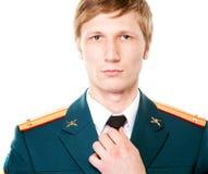 военная форма человека Стоковая Фотография
