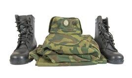 военная форма Стоковая Фотография