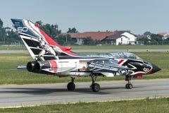 Военновоздушная сила итальянки торнадо PA-2000 Panavia Стоковая Фотография