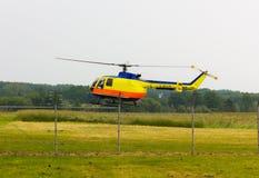 Военновоздушная сила тяпки воздуха выставки вертолета мухы Стоковая Фотография RF