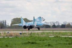 Военновоздушная сила MiG-29 Украины Стоковое Изображение RF