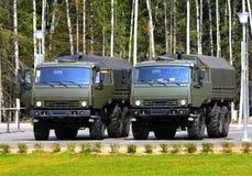 2 военного транспортного средства Стоковые Изображения RF