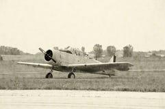 военное время самолет-истребителя самолета Стоковые Фотографии RF