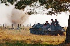 военное транспортное средство Германии бой Стоковая Фотография RF