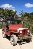 Военное транспортное средство philippines сбора винограда американское Стоковое Фото
