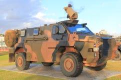 Военное транспортное средство Австралия армии Стоковое Фото